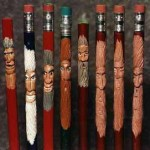 pencil-carving