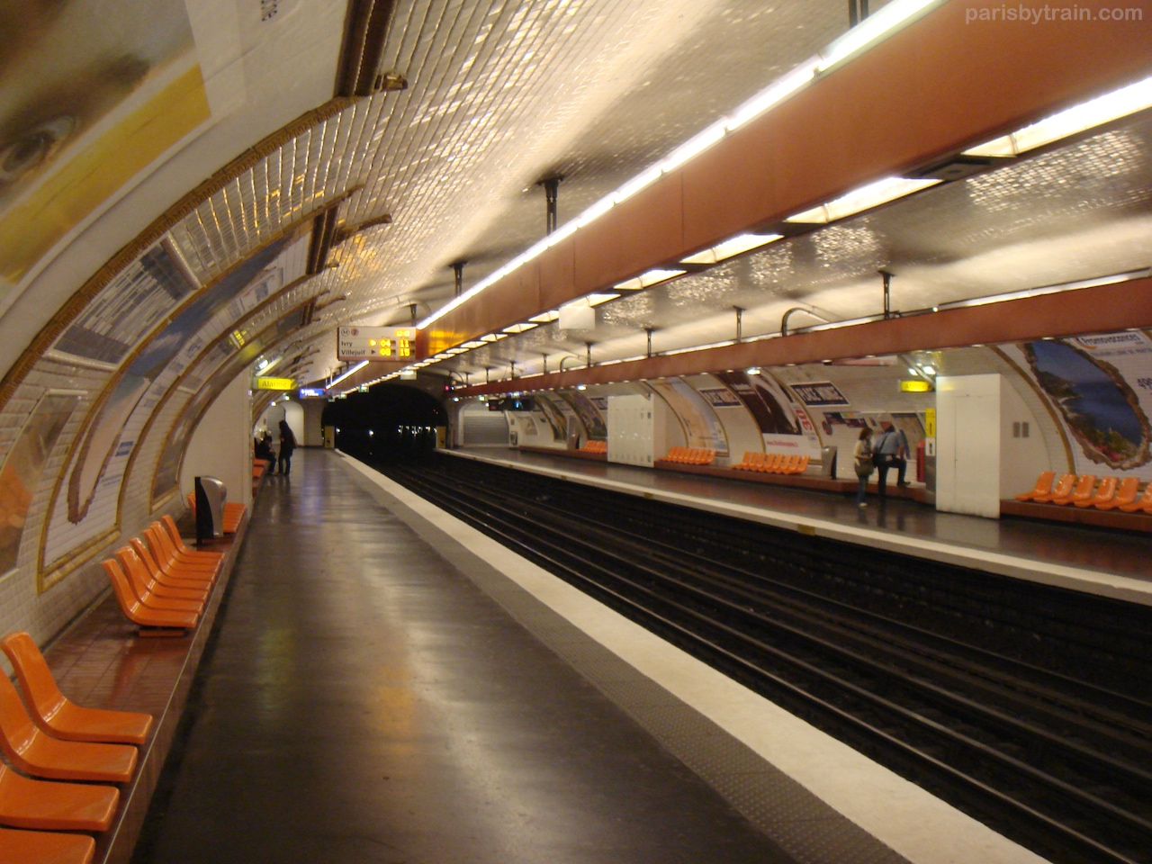 Place Monge Line 8 Metro Station